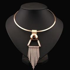 Einzigartig Legierung Frauen Mode-Halskette (Sold in a single piece)