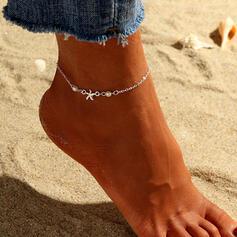 Einfache kühlen Legierung mit Star Fußkettchen