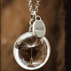 Boho Romantisch Glas Frauen Halsketten