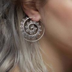 Einzigartig Twist Legierung Frauen Ohrringe 2 STÜCK
