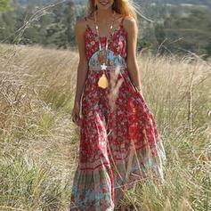 Modisch Holzperlen mit Quasten Frauen Mode-Halskette