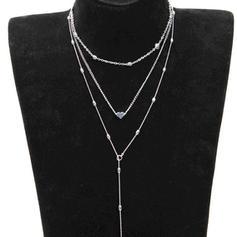 Prächtig Legierung Frauen Halsketten
