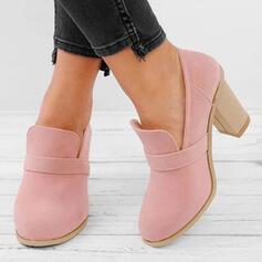 Frauen PU Stämmiger Absatz Absatzschuhe Stiefel mit Andere Schuhe