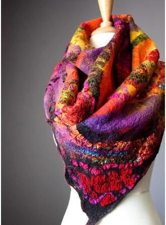 Geometrische drucken/Druck/Bunt mode/Komfortabel/Mehrfarbigen Schal