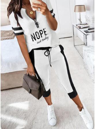 Druck Übergröße Lässige Kleidung Sexy Anzüge