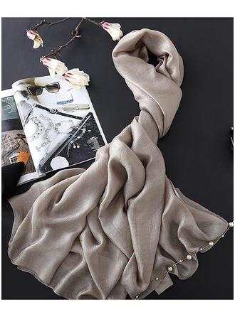 Einfarbig Leicht/überdimensional Schal