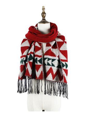 Quaste/Weihnachten/Geometrisch mode/Weihnachten Schal