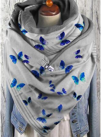 Tier mode/Schmetterlings-Entwurf Schal