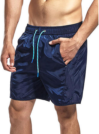 Herren Gefüttert Kordelzug Board Shorts