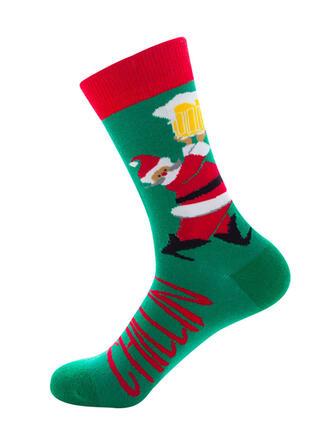 Druck Komfortabel/Weihnachten/Crew Socks/Unisex Socken