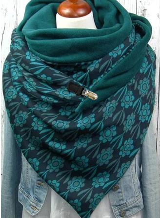 Druck/Blätter mode/Kaltes Wetter/Komfortabel Schal