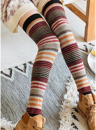 Gestreift Warmen/Damen/Knee-High Socks Socken/Strümpfe Socken