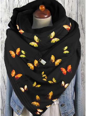 Bunt mode/Warmen/Schmetterlings-Entwurf Schal