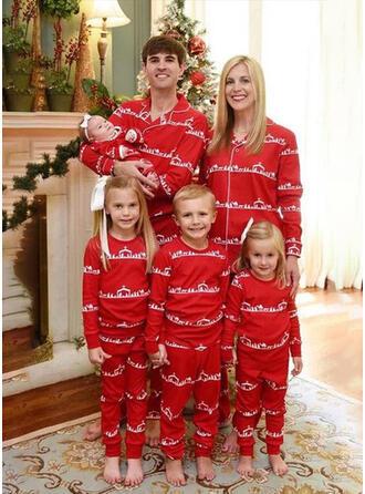 Bär Drucken Passende Familie Christmas Pajamas