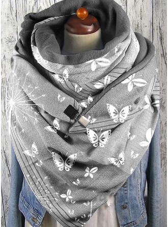 Retro /Jahrgang/Tier mode/Schmetterlings-Entwurf Schal