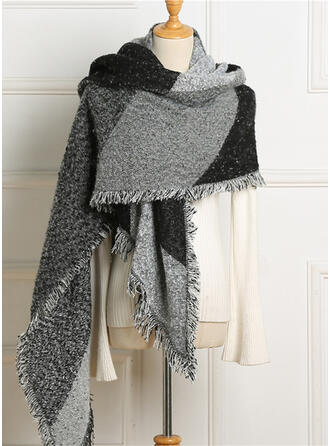 Einfarbig/Stitching überdimensional/mode/Komfortabel Schal
