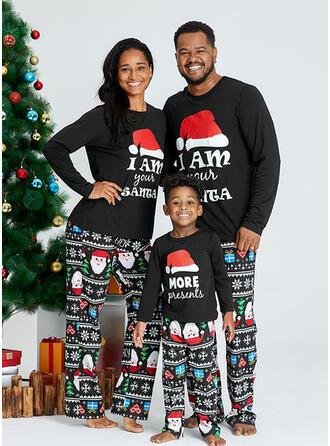 Weihnachtsmann Schreiben Passende Familie Christmas Pajamas