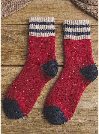 Stitching Komfortabel/Weihnachten/Crew Socks/Unisex Socken